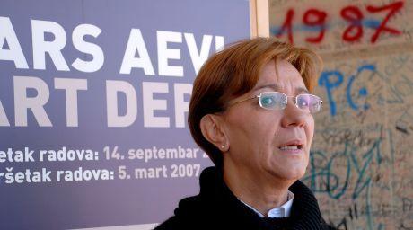 Ferida Durakovic Ars Aevi protest