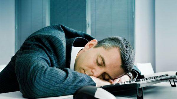 spavanje na poslu