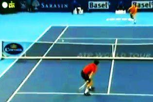 tenis potez