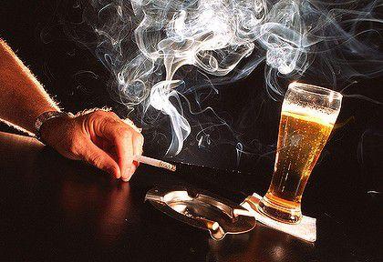 alkohol-cigare