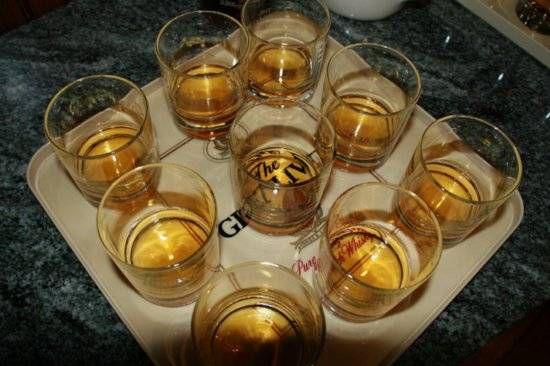whiskey shots drink