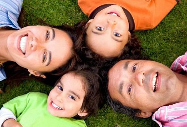 sretna porodica