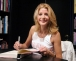 """WEST HOLLYWOOD, CA - AUGUST 5:  Writer Candace Bushnell makes a bookstore appearance to promote her new book """"Trading Up""""  at Book Soup bookstore on August 05, 2003 West Hollywood, California.  (Photo by Giulio Marcocchi/Getty Images)"""