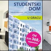Studentski dom u Gracu: Odlični uslovi i kvalitet stanovanja! (FOTO)
