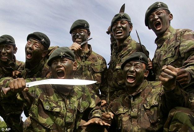 gurkha-vojnici