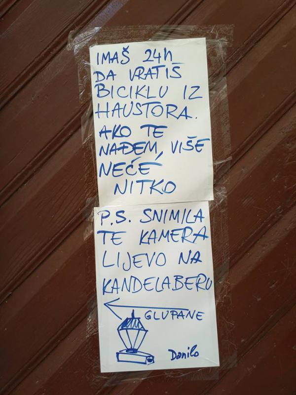 poruka-biciklo