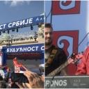 """""""Kafana na Balkanu"""": Na Vučićevom mitingu pjeva Aca Lukas, čeka se Milorad Dodik"""