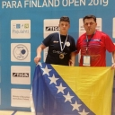 Prva u historiji za BiH: Eminović osvojio zlatnu medalju u parastonom tenisu