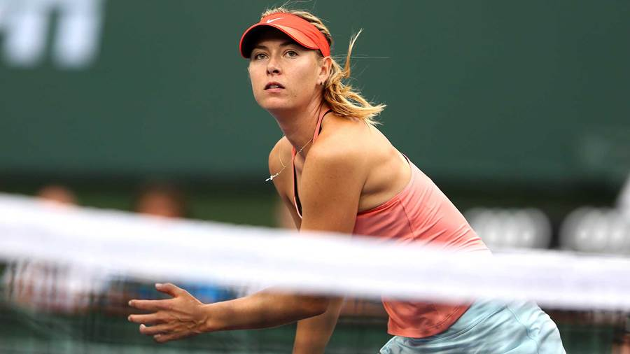 maria sharapova wta tennis - HD 2000×1125