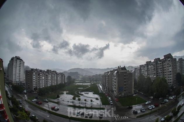 Vremenska Prognoza žuti Meteoalarm Zbog Vremenskih Prilika