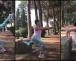 Super mama: Poodmakla trudnoća ne sprječava Amru Silajdžić-Džeko da aktivno vježba (VIDEO)