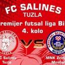 Veliki derbi u futsalu: Salines Tuzla dočekuje Zrinjski iz Mostara