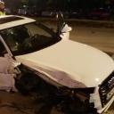 Težak sudar Audija i vozila zaštitarske agencije u naselju Stupine