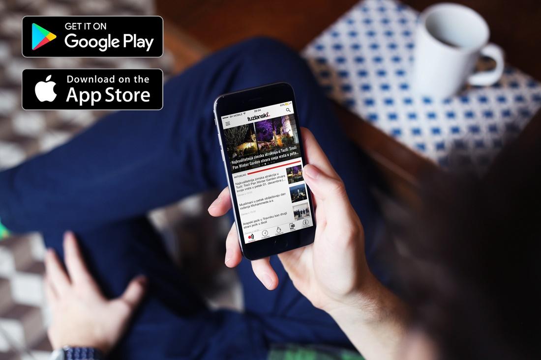 Preuzmite Tuzlanski.ba aplikacije za vaše iOS i Android mobilne uređaje - http://tuzlanski.ba/aplikacije/
