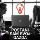 """Podrška za start-up biznise u iznosima od 5.000 KM: Poziv za informativnu radionicu, Postani """"Sam svoj gazda""""."""