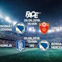 Prijenos utakmice Zmajeva protiv Crne Gore na Face TV, u studiju Fazlagić, Muslimović i Šabić