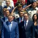Milorad Dodik i Dragan Mektić na proslavi Dana policije Srbije