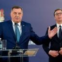 Dodik nakon sastanka s Vučićem: Nemamo namjeru trpjeti opstrukcije