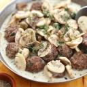 Brzi ručak za ljubitelje gljiva: Okruglice u umaku od šampinjona
