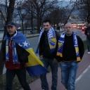 Navijači 'Zmajeva' iz cijele BiH pristižu u kolonama na Bilino polje (FOTO)