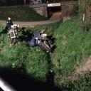 """Teška saobraćajna nesreća u Živinicama: Dvojica mladića u """"golfu"""" sletjela sa ceste"""