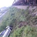 Nesreća u Živinicama: Voz udario u BMW na Ciljugama, jedna osoba povrijeđena