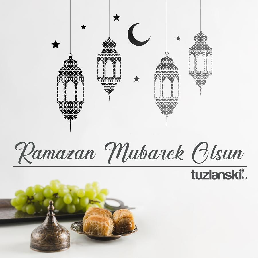 Ramazan Mubarek Olsun svim musimanima želimo berićetne ramazanske dane