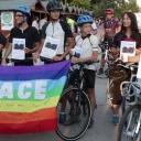 'Na biciklu za mir': Mladi biciklisti iz Italije donijeli zastavu mira u Sarajevo