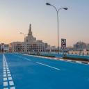 Zašto Doha farba ulice u plavo?