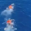 Migrantima dosadilo čekati na brodu pa skočili u more i zaplivali prema Italiji