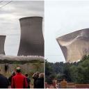 Velika Britanija: Pogledajte snimak rušenja 3 rashladna tornja u Didcotu, 40 hiljada domova ostalo bez struje