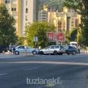 Tuzla: U saobraćajnoj nezgodi učestovalo više automobila (FOTO)