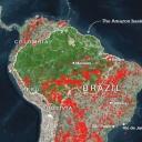 Satelitski snimak: Kataklizma u Amazonu