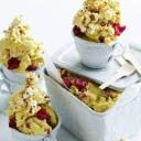 Neobični sladoled sa kokicama i malinama