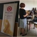 Život poslije raka – Borba se nastavlja: Nastavak kampanje Zlatni septembar u Gimnaziji u Lukavcu