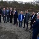 Delegacija Vlade TK posjetila lokacije realizacije infrastrukturnih projekata u Lukavcu