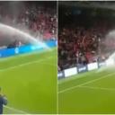 Blamaža na otvaranju stadiona u Tirani: Pogrešno okrenute prskalice 'okupale' navijače na tribini