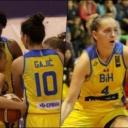 Na krilima fantastičnih Jones i Gajić bh. košarkašice savladale Švicarsku