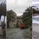 Haos na Jadranu: U Splitu odletjela fasada, riva je pod vodom, ne voze brodovi
