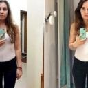 Fotografisala se u istoj kombinaciji u kabinama poznatih trgovina odjeće, ova razlika ju je šokirala
