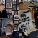 Angela Merkel prvi put u Auschwitzu: Osjećam duboki stid zbog zločina koje su počinili Nijemci