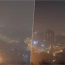 Vrlo nezdrav zrak u Tuzli: Ovako grad izgleda s brda Kicelj (FOTO)